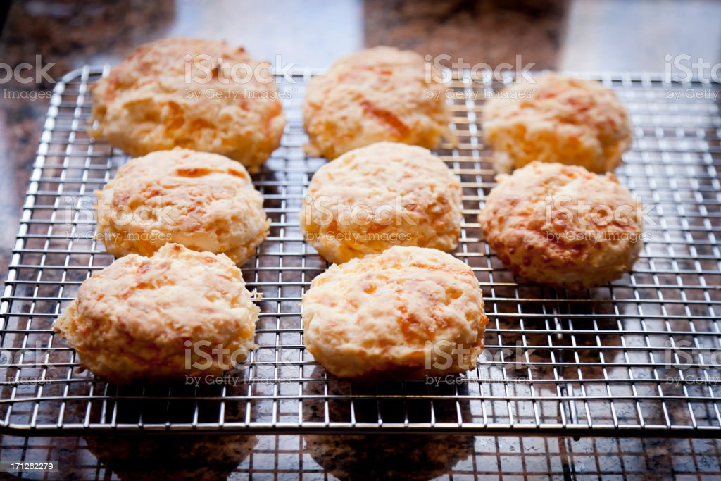 Cheese Biscuits stock photo