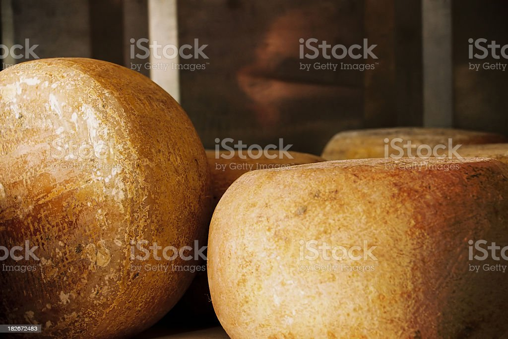 Cheese blocks royalty-free stock photo