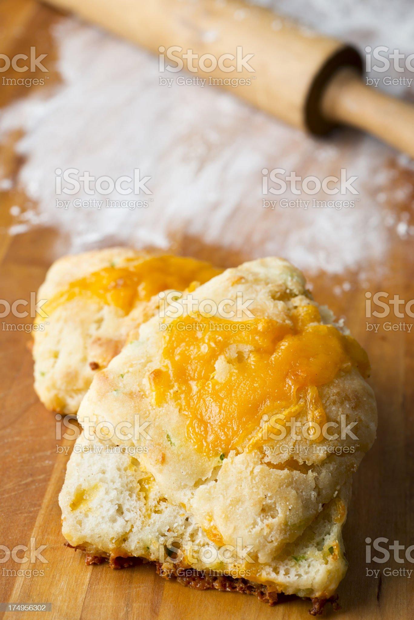Cheese Bread royalty-free stock photo