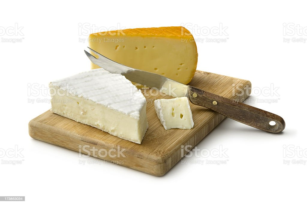 Cheese: Brie stock photo