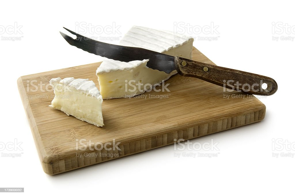 Cheese: Brie stock photo
