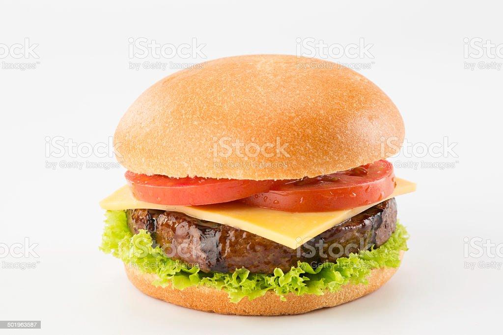 Cheese Burguer stock photo