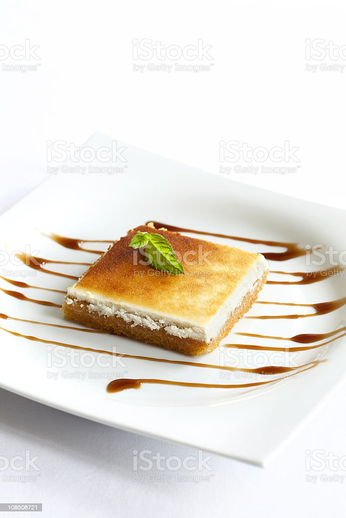 Cheese cake (turkish style) royalty-free stock photo