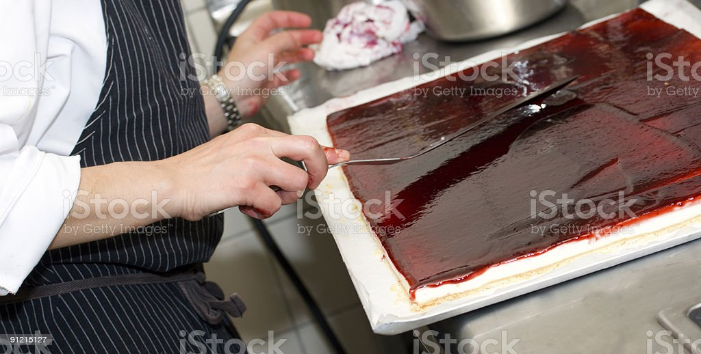Cheese cake. royalty-free stock photo