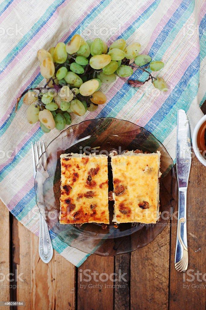 cheese casserole royalty-free stock photo