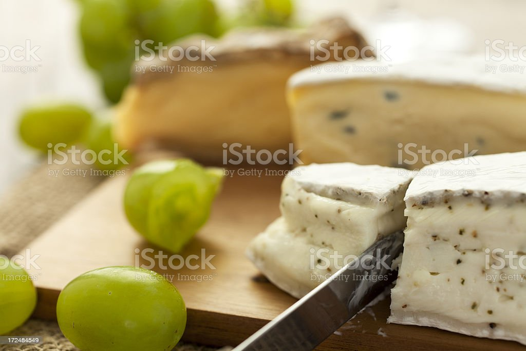 Cheese Close-Up royalty-free stock photo