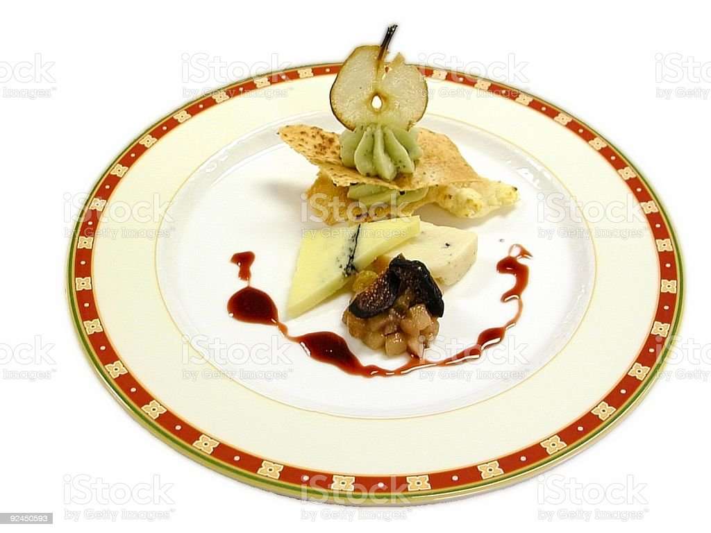 Cheese Course royalty-free stock photo