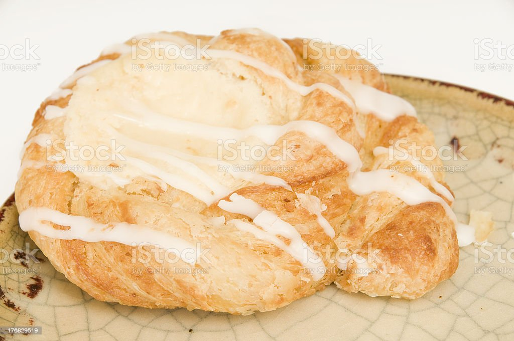 Cheese danish stock photo