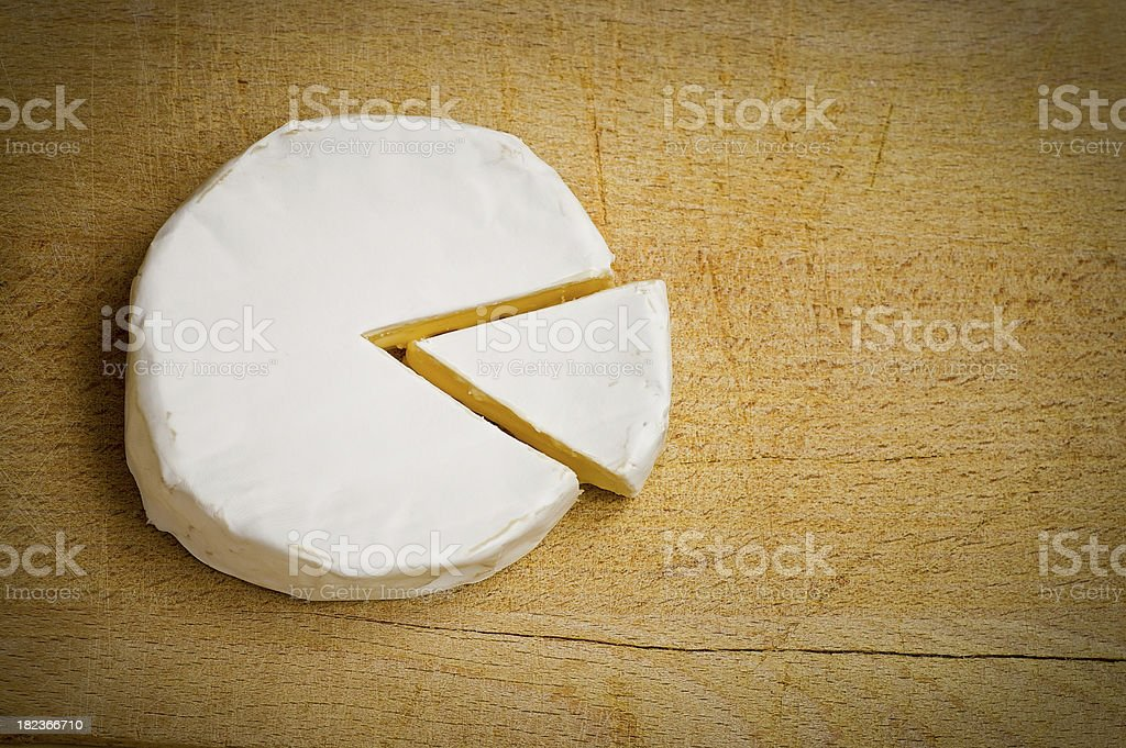 Cheese diagram stock photo