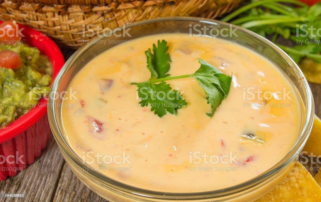 cheese dip stock photo