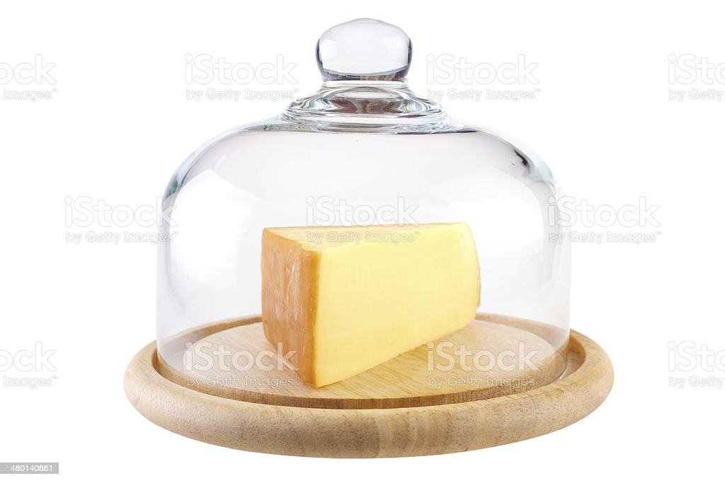 Cheese dome with cheese royalty-free stock photo