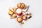 Cheese Fondue dinner