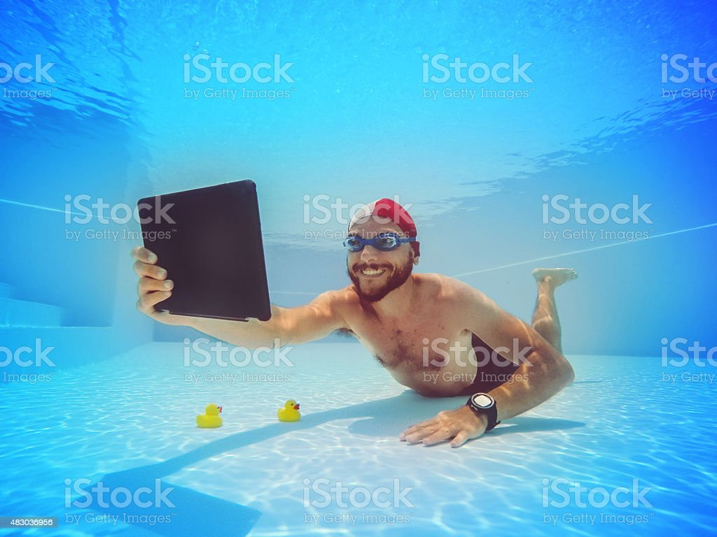 Cheese for ultimate selfie stock photo