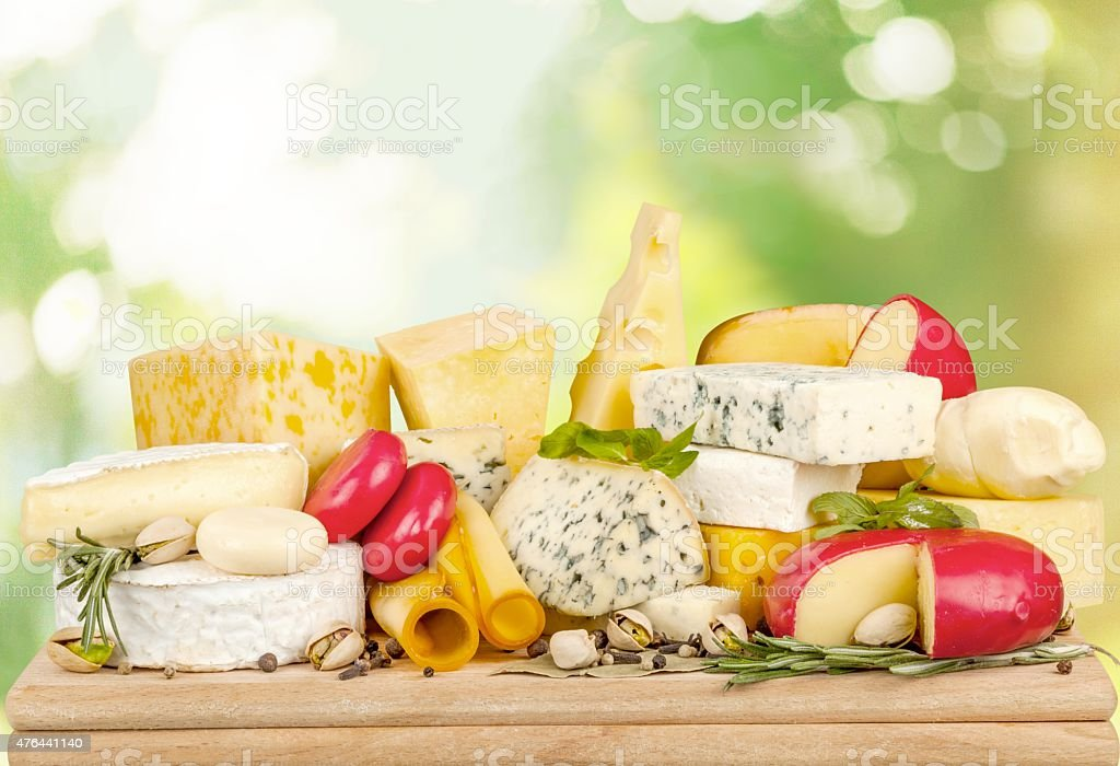 Cheese, Gourmet, Dairy Product stock photo