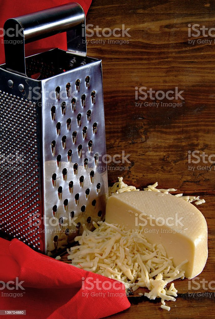 Cheese grater royalty-free stock photo