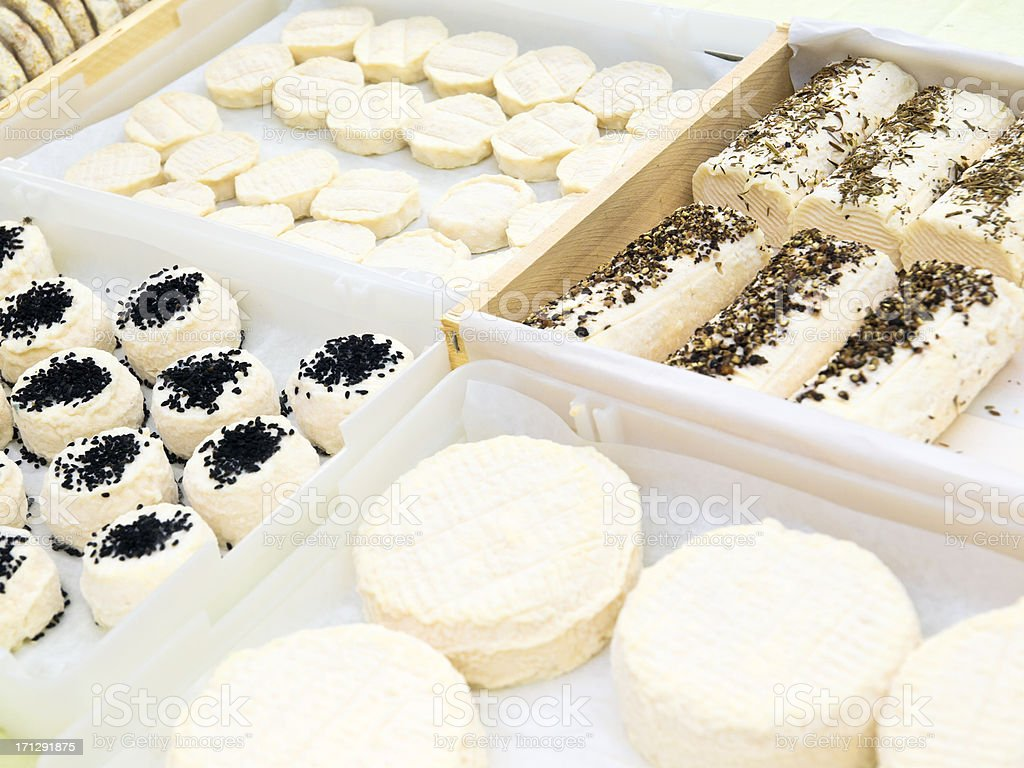 Cheese in Provence stock photo