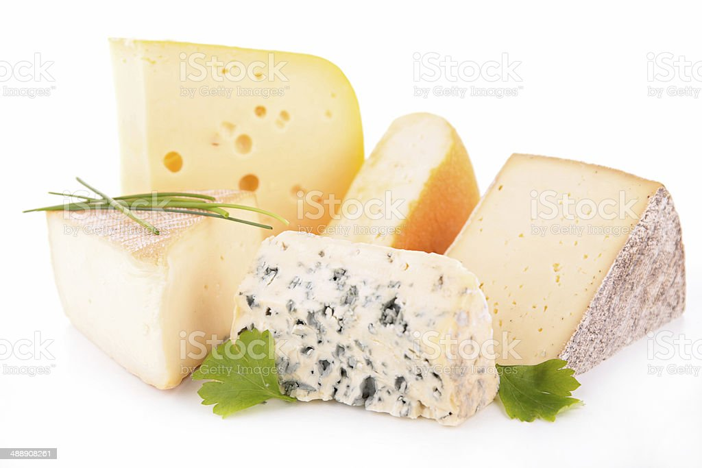 cheese isolated royalty-free stock photo