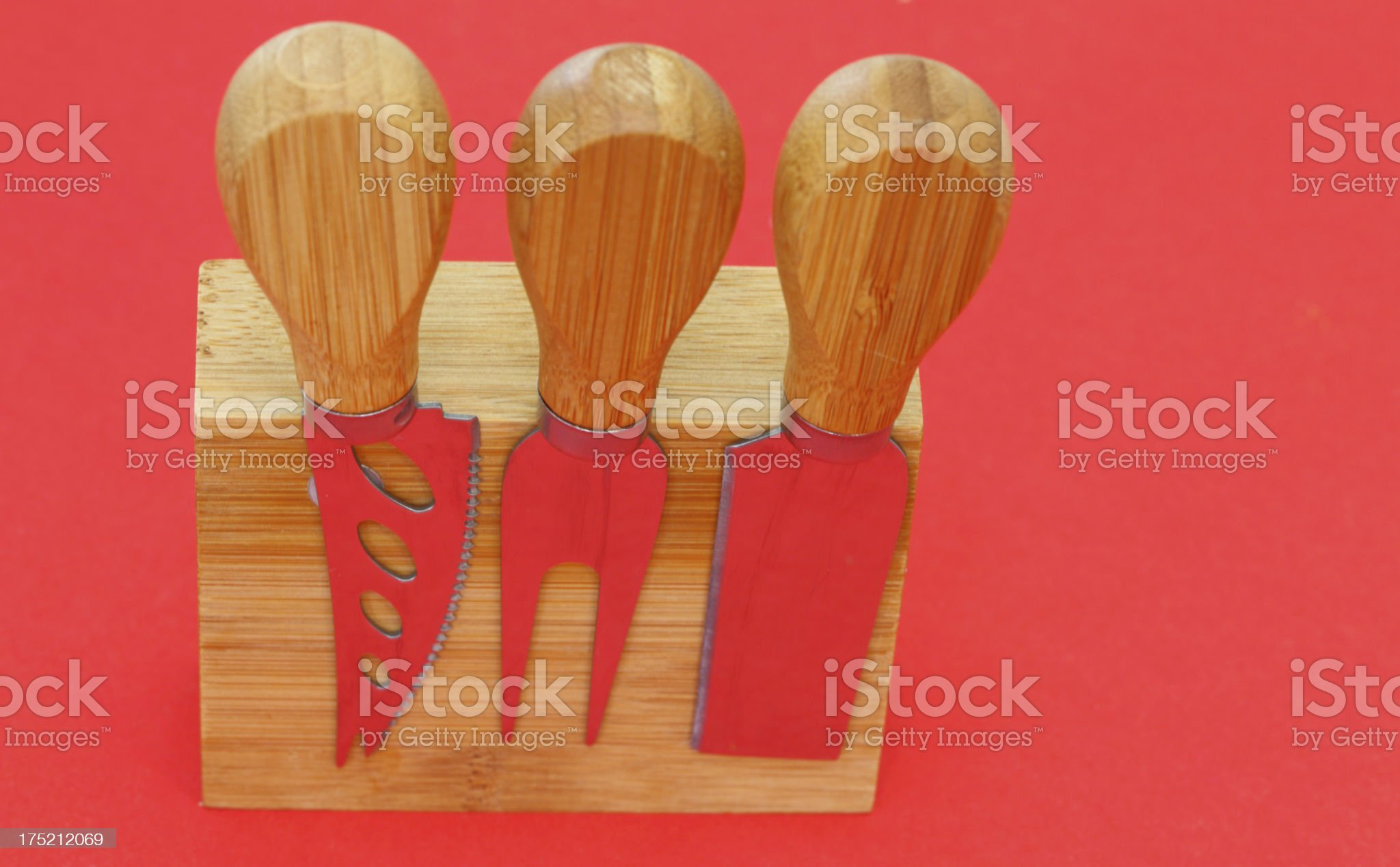 cheese knife collection royalty-free stock photo