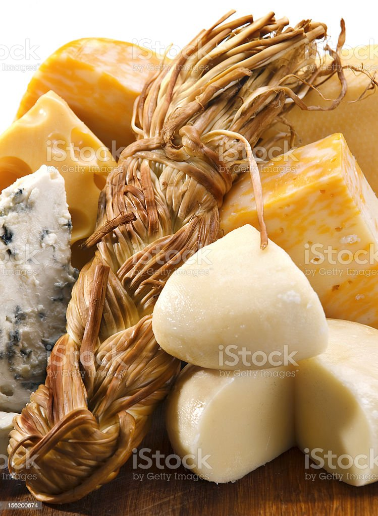 Cheese mix stock photo
