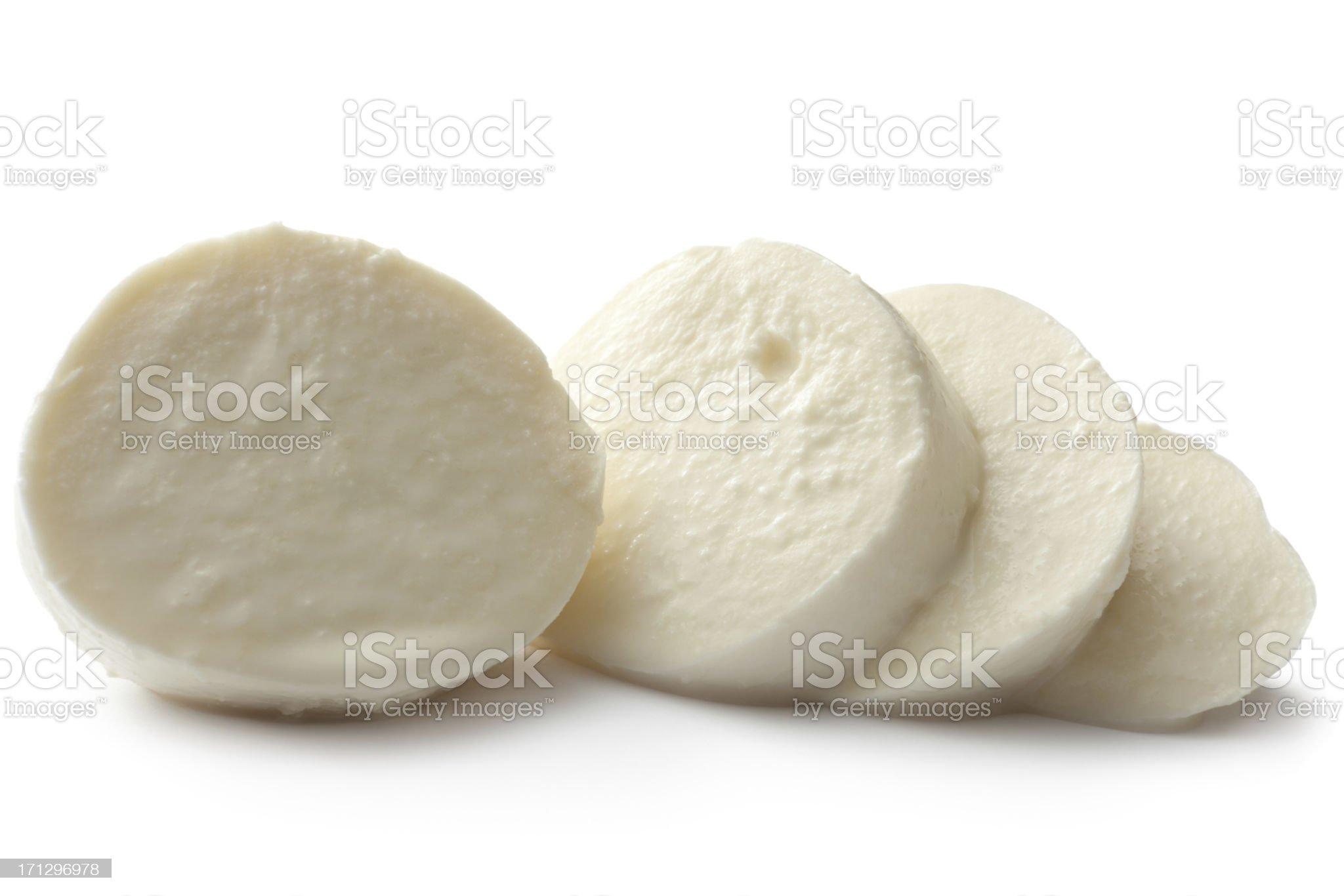 Cheese: Mozzarella royalty-free stock photo