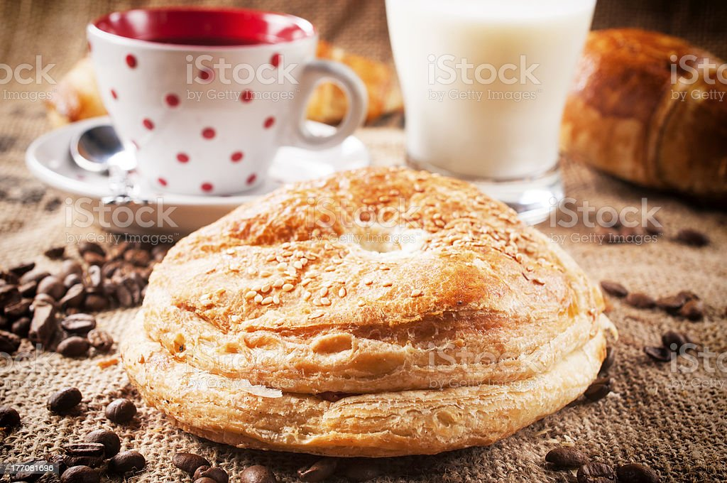 Cheese pastry royalty-free stock photo