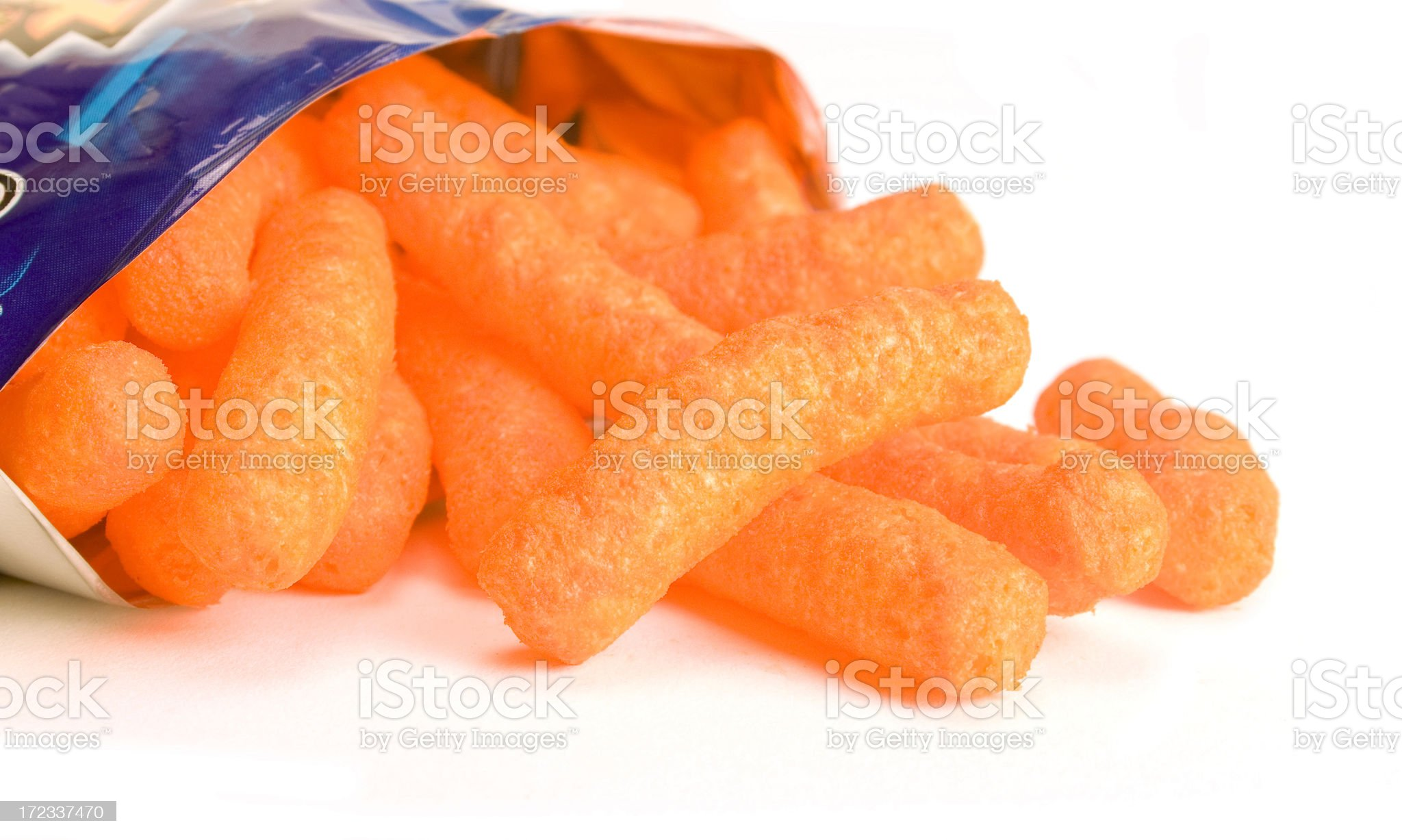 Cheese poffs royalty-free stock photo