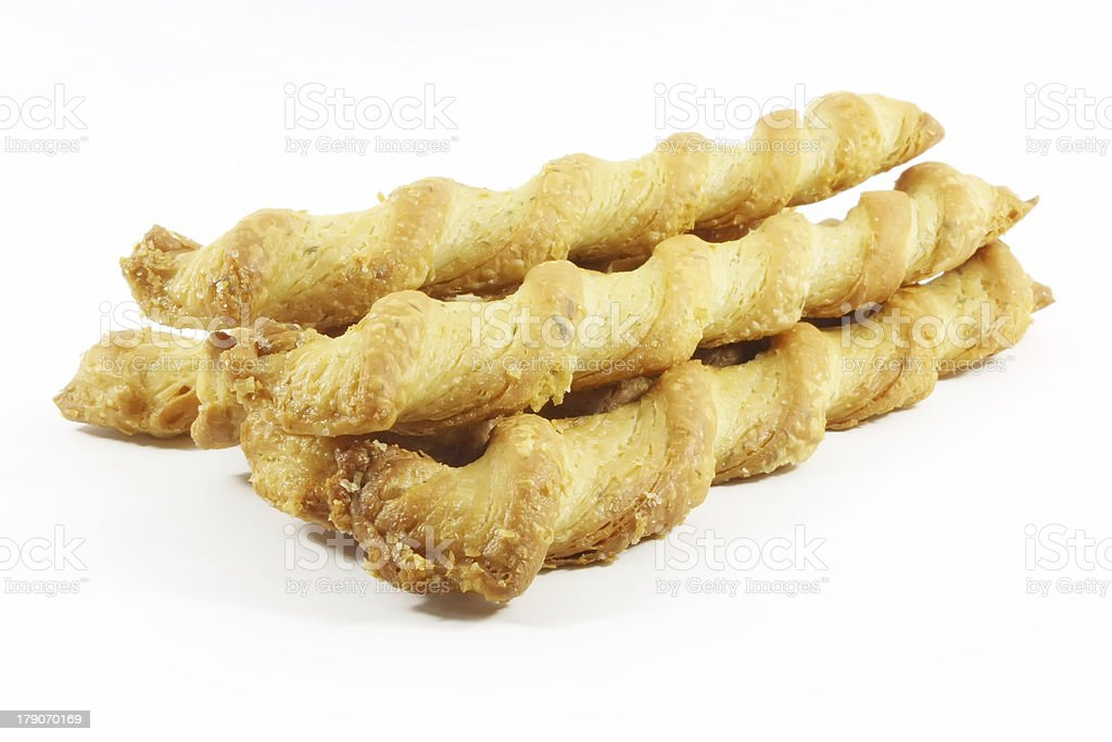 Cheese Puff Pastry Crunch royalty-free stock photo