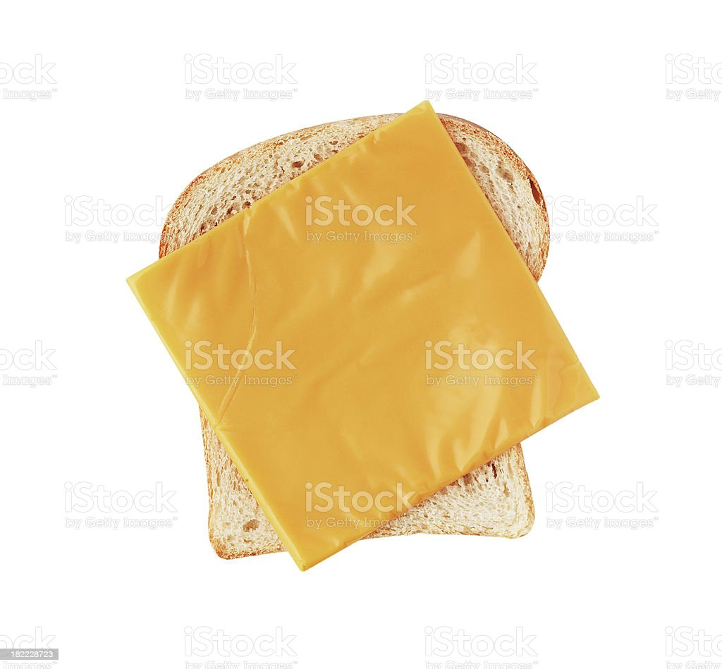 Cheese Sandwich stock photo