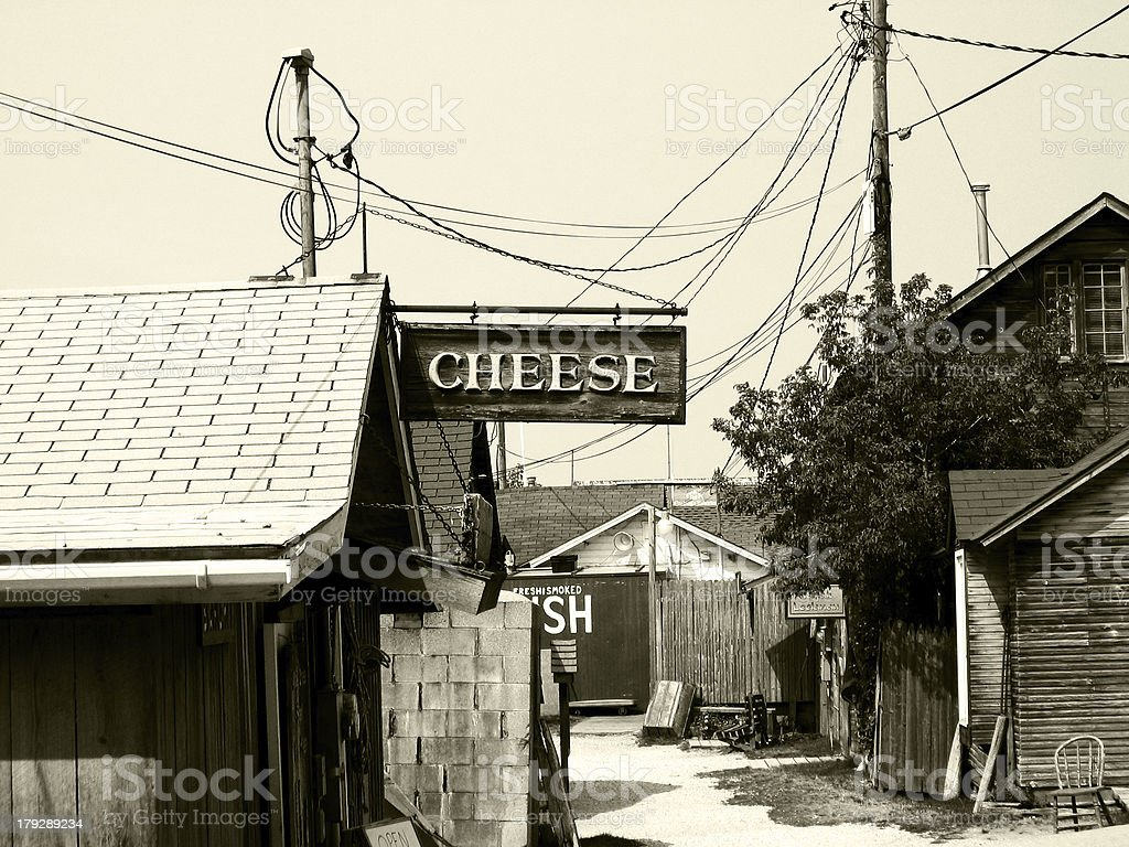 Cheese Sign stock photo