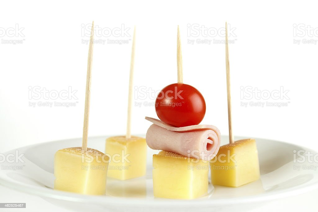 Cheese snack royalty-free stock photo