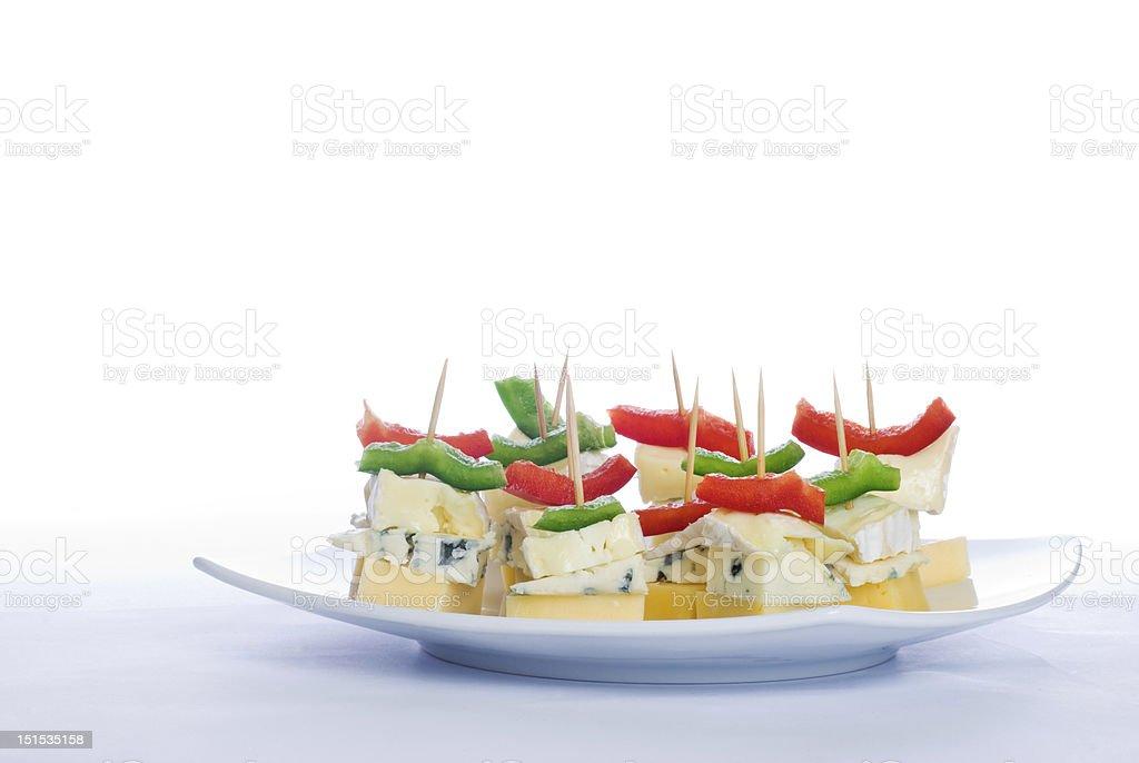 Cheese snacks royalty-free stock photo