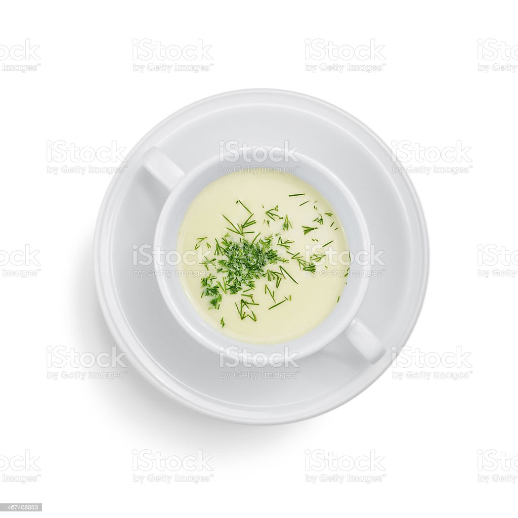 cheese soup royalty-free stock photo