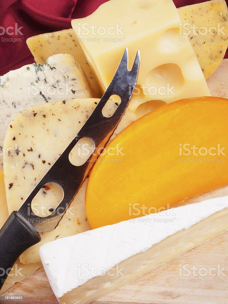 Cheese still life royalty-free stock photo
