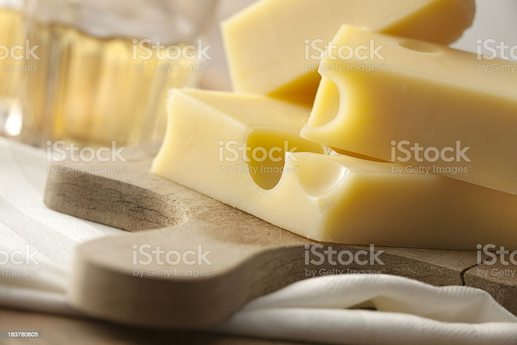 Cheese Stills: Emmenthal royalty-free stock photo