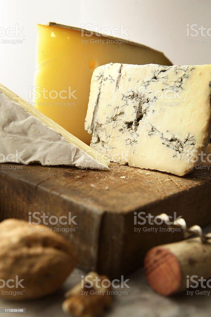 Cheese Stills: Variety stock photo