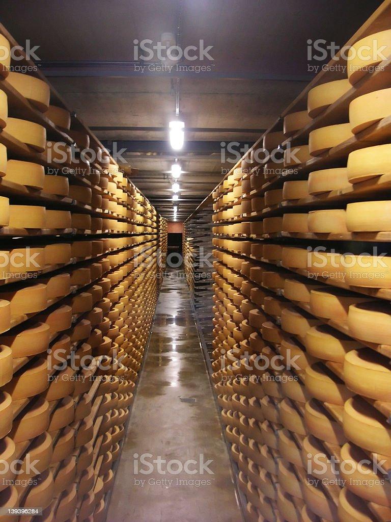 チーズの店 ロイヤリティフリーストックフォト