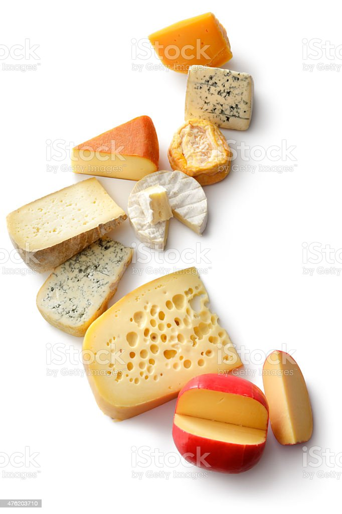 Cheese: Variation stock photo