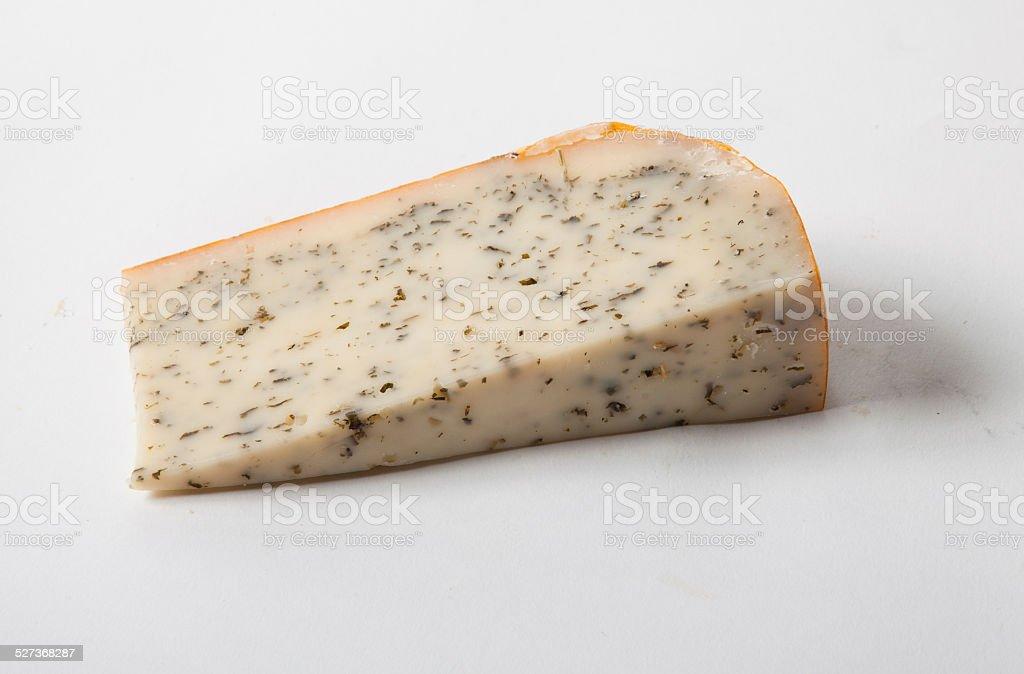 Cheese Wedge stock photo