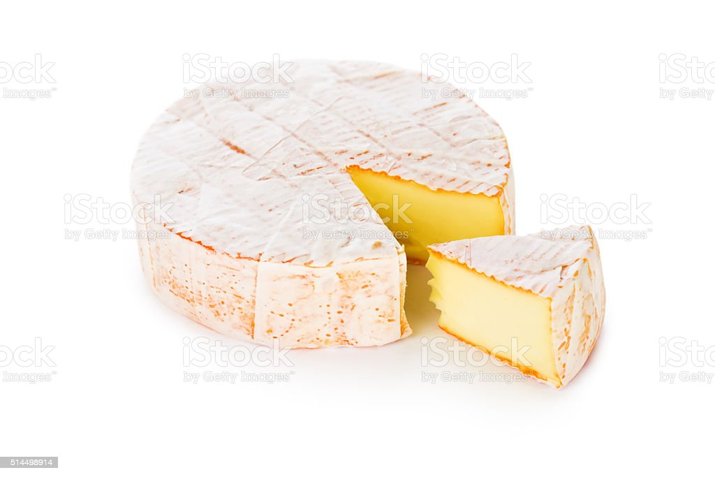Cheese with a white mould stock photo