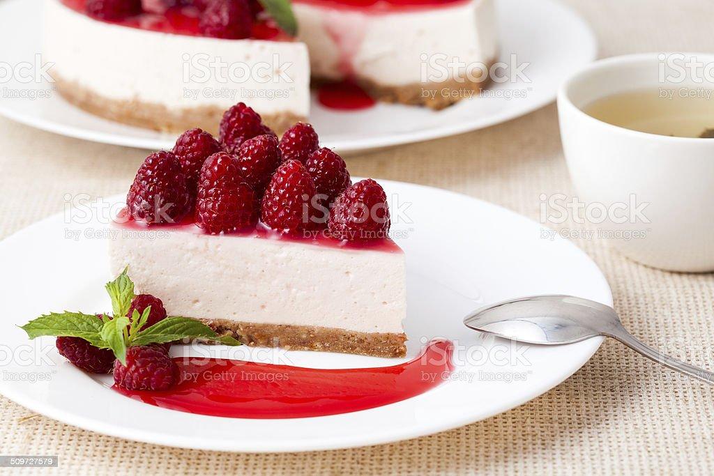 Cheesecake stock photo