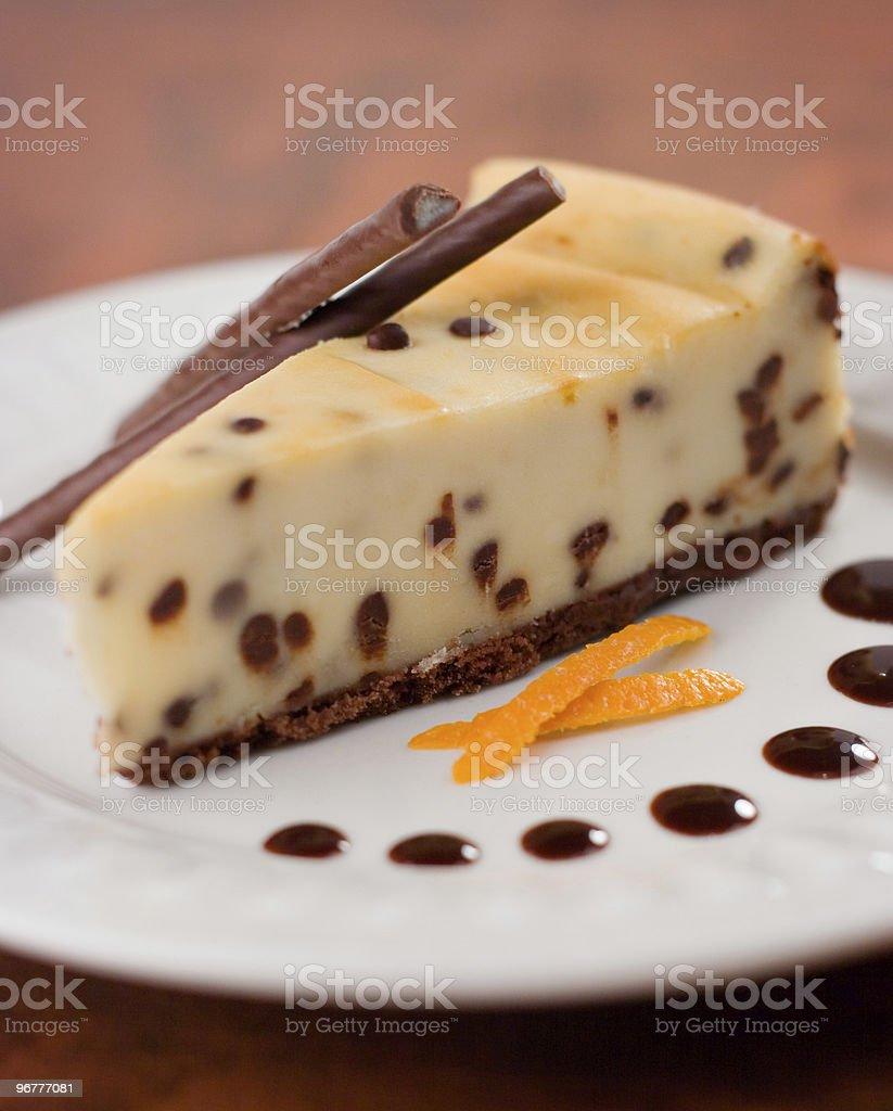 Cheesecake Slice royalty-free stock photo
