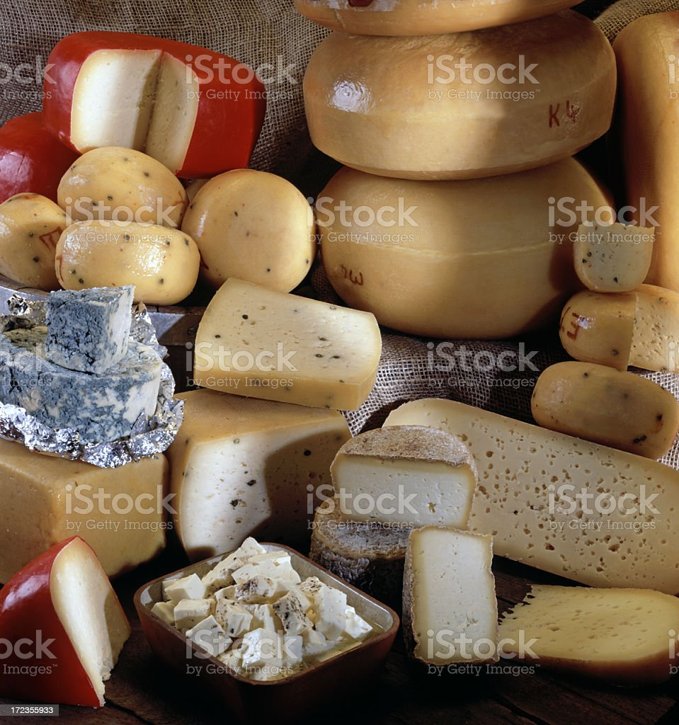 Cheeses royalty-free stock photo