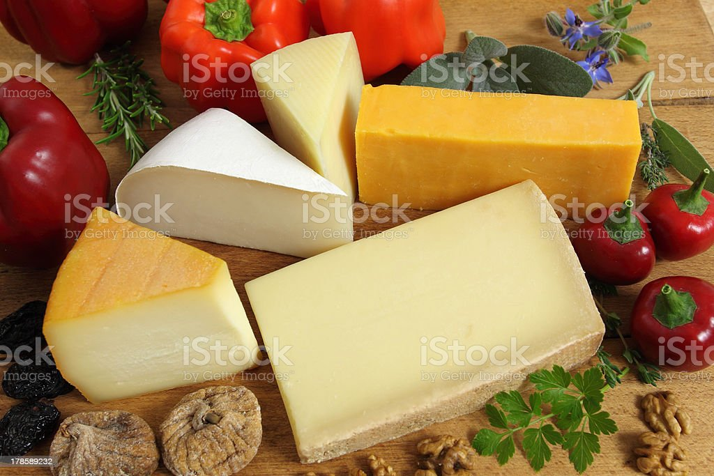 Cheeses royalty-free stock photo