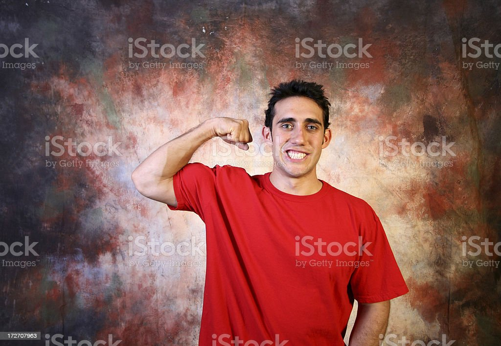 Cheesy Stud royalty-free stock photo