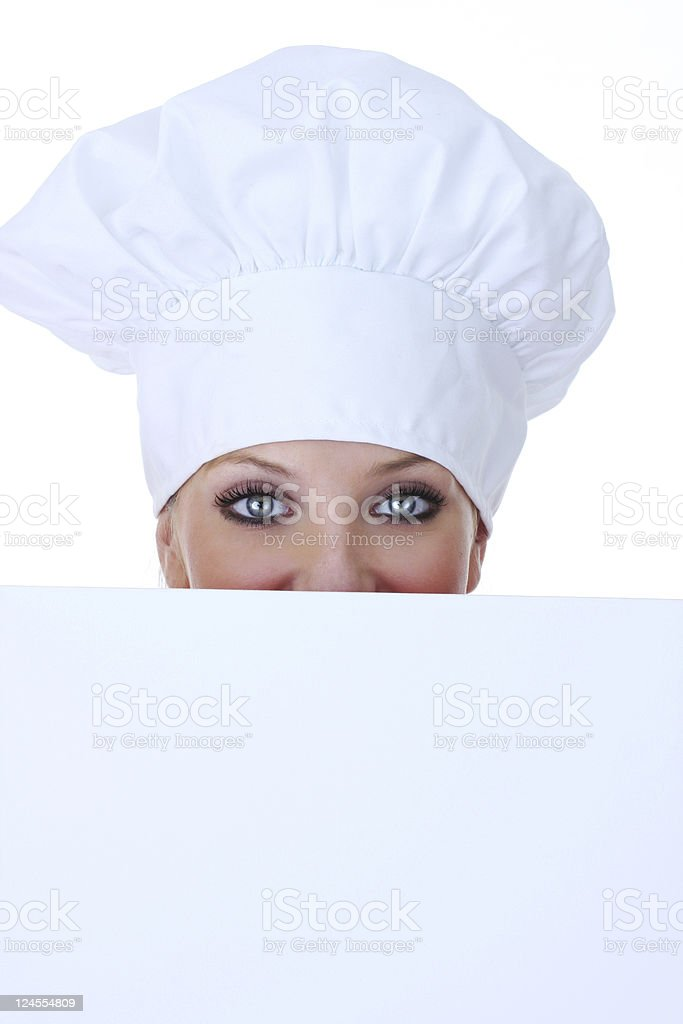chef close up royalty-free stock photo