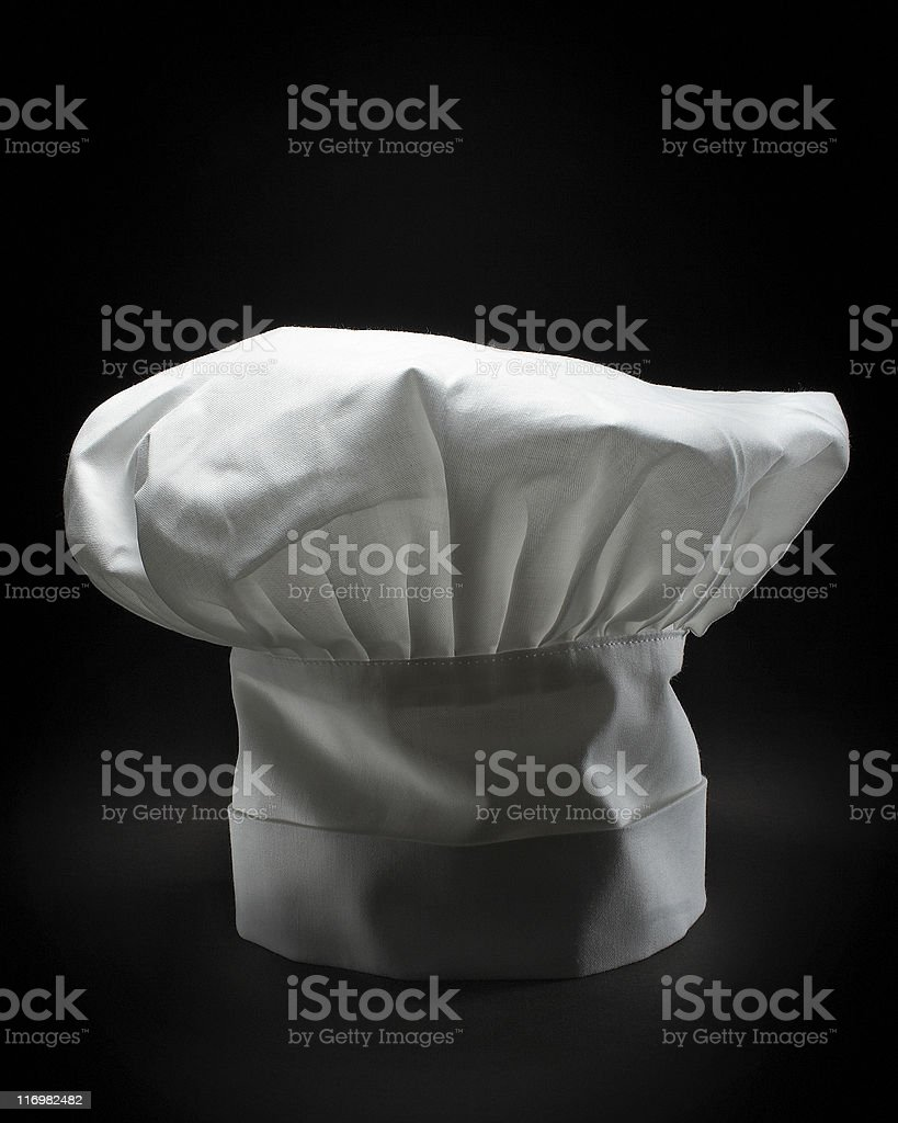Chef hat for culinary arts royalty-free stock photo