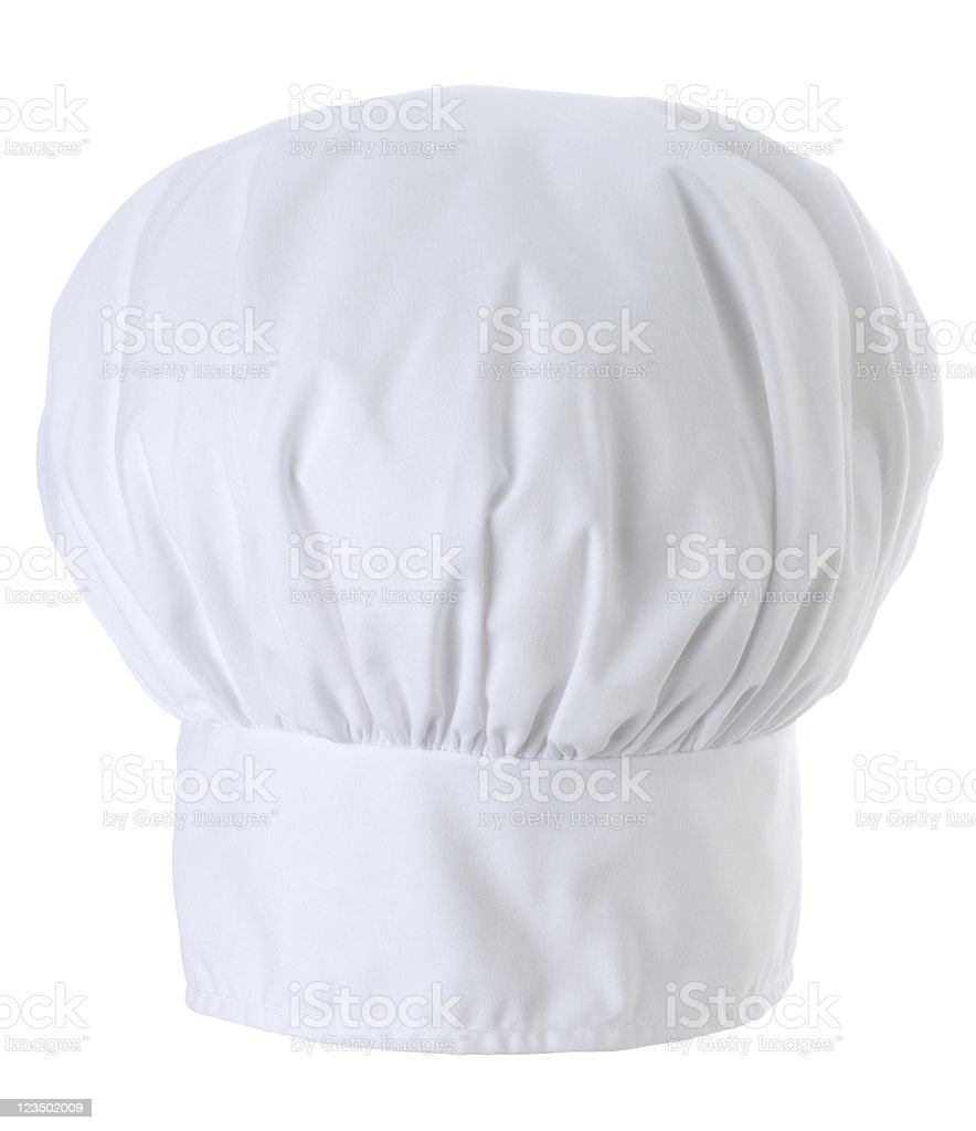 Chef Hat Isolated on a White Background royalty-free stock photo