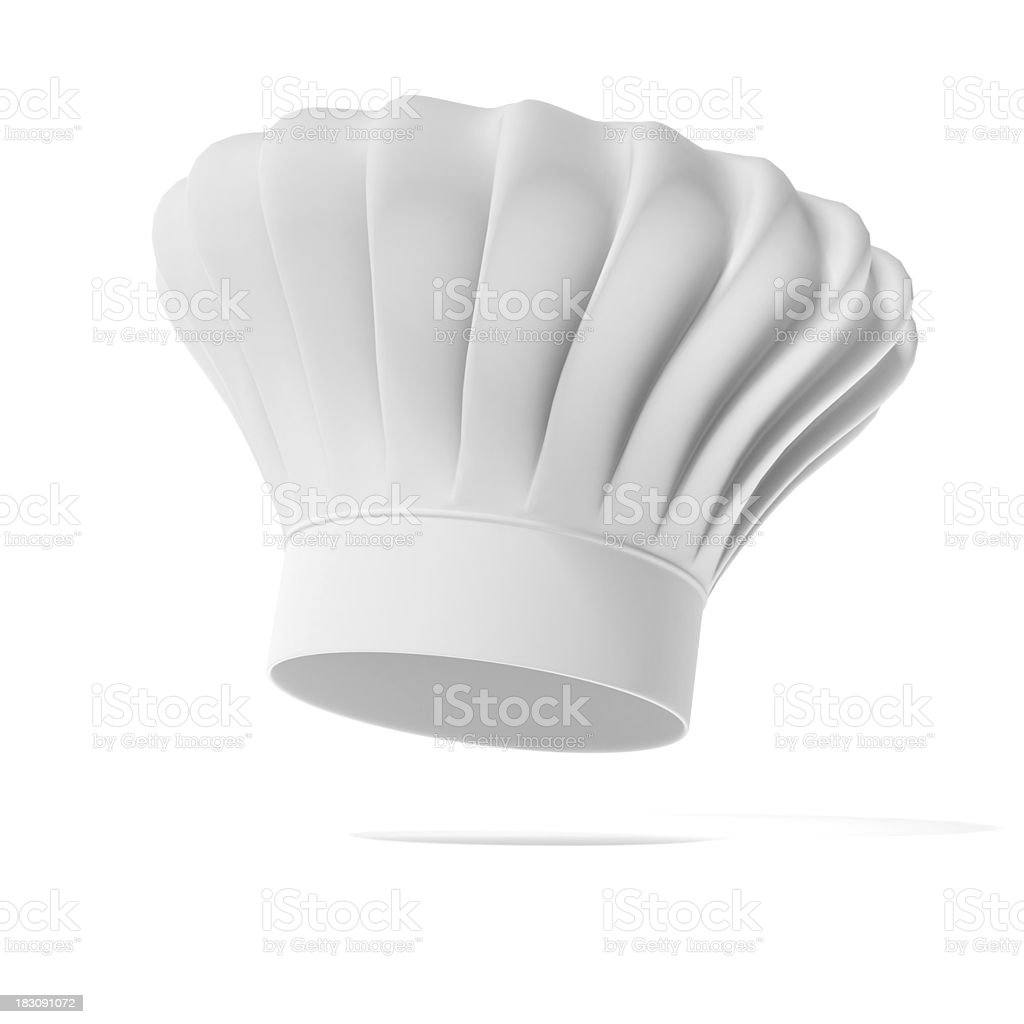 Chef hat stock photo
