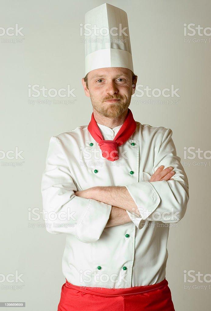 chef portrait royalty-free stock photo