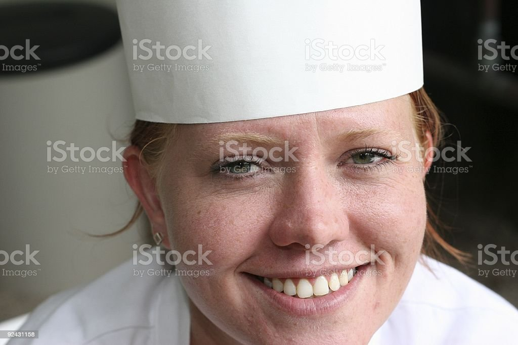 Chef Series - 10 royalty-free stock photo